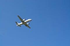 Golden Air-Flugzeug Lizenzfreies Stockbild
