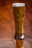 Golden ale in a pint Royalty Free Stock Photo