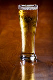 Golden ale in a pint Royalty Free Stock Photography
