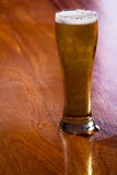 Golden ale in a pint Stock Image