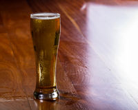 Golden ale in a pint Royalty Free Stock Images