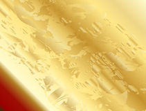 Golden Alien Horizon Royalty Free Stock Photography