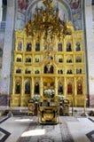 Golden altar Stock Photo