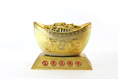 Golden ancient Yuan Royalty Free Stock Images