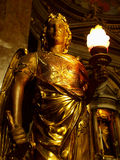 Golden angel stock photos