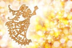 Golden angel Stock Photography