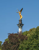 The golden angel of Munich in Bavaria Royalty Free Stock Images