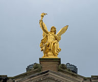 Golden angel Royalty Free Stock Photography