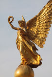 Golden angel statue Stock Images