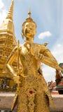 Golden angel statue Stock Photos