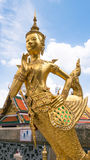 Golden angel statue Royalty Free Stock Image
