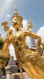 Golden angel statue Stock Images
