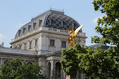 Golden Angel Vienna University Royalty Free Stock Image