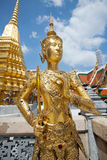 Golden Angle at Golden Palace, Bangkok Stock Photo
