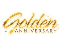Golden Anniversary Stock Photography