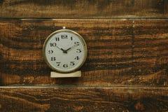 Golden antique alarm clock Stock Photo