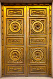 Golden Antique Door Royalty Free Stock Image