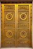 Golden Antique Door Royalty Free Stock Image