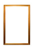 Golden antique frame Royalty Free Stock Photography
