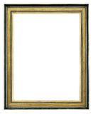 Golden Antique Frame Stock Image