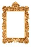 Golden antique frame Stock Image