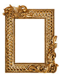 Golden antique frame Royalty Free Stock Images