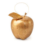Golden apple Stock Photography