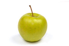 'Golden' Apple. Apple of grade 'Golden' over white stock photo