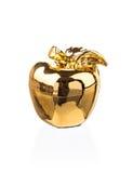 Golden apple Stock Photo