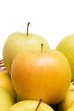 Golden Apples Closeup royalty free stock photo