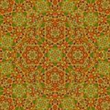 Golden arabesque kaleidoscope mosaic. Golden arabesque kaleidoscope pretty mosaic Stock Illustration