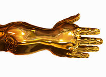 Golden Arm Royalty Free Stock Photo