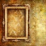 Golden art Royalty Free Stock Photos
