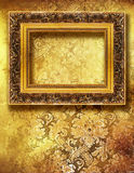 Golden art Royalty Free Stock Photography