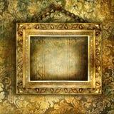 Golden art Stock Image