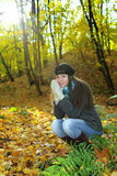 Golden autumn Stock Image