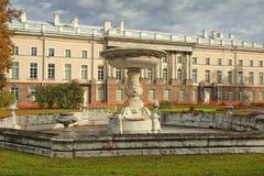 Golden autumn in Catherine park, Tsarskoye Selo Royalty Free Stock Photography