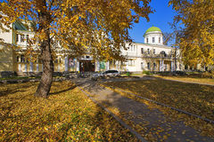 Golden autumn in the city Royalty Free Stock Photos