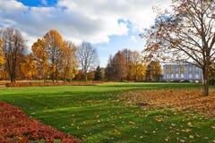 Golden autumn in the city park. Royalty Free Stock Photos