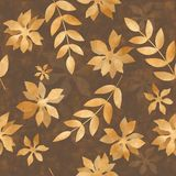 Golden autumn leaves Royalty Free Stock Photos