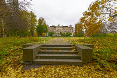 Golden Autumn. Tampere, Finland. Picture taken in Tampere, Finland Stock Images