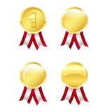 Golden awards Royalty Free Stock Photo