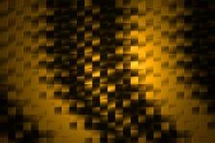 Golden Background. Dark golden squares pattern - abstract background / texture stock illustration