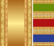 Golden background Stock Image