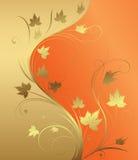 Golden background. Illustration of golden design background Royalty Free Stock Image