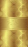 Golden background. Illustration of golden design background Stock Image