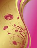 Golden background Stock Photos