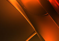 Golden background (abstract) 01 Royalty Free Stock Image