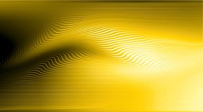 Golden background with bright gradient and blur effects stock image