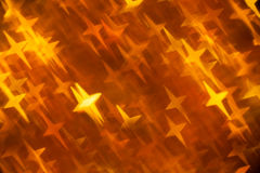 Golden background in cross shape form Royalty Free Stock Images